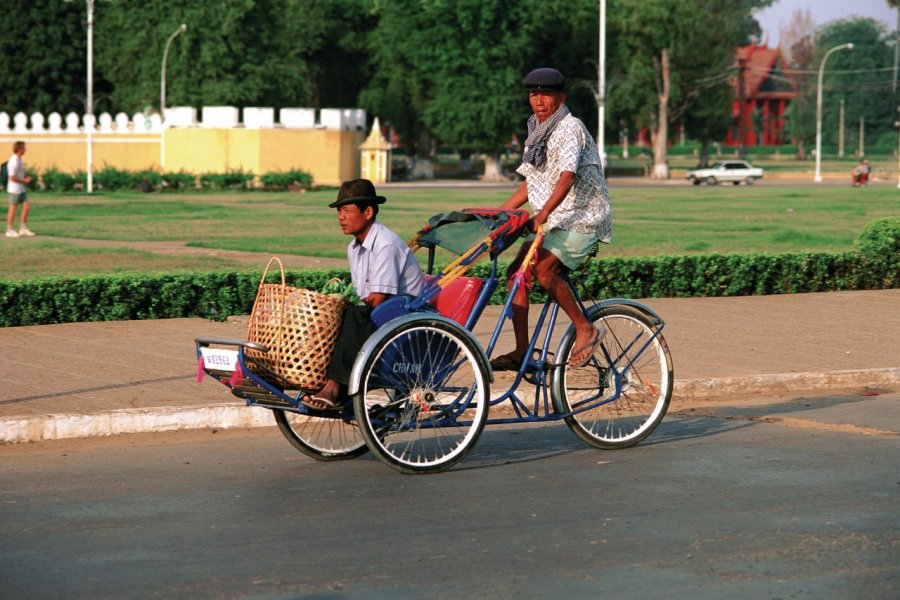 Transport à Phnom Penh. (© Author's Image))