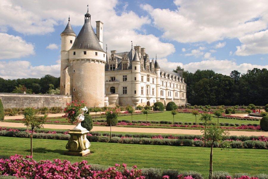 Le château de Chenonceau (© Vaclav Zilvar - Fotolia))