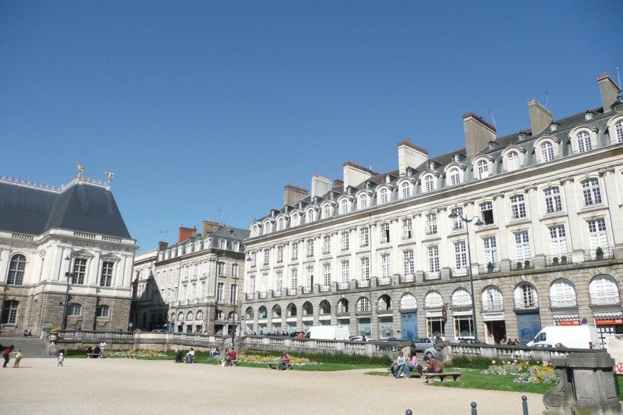 La place du Parlement de Bretagne. (© jerome DELAHAYE - Fotolia))