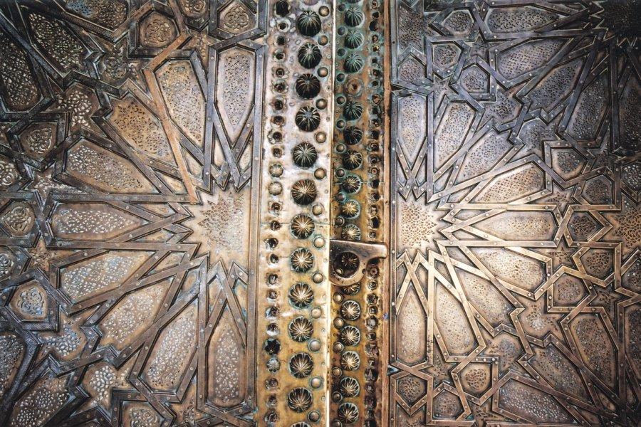 Porte de la mosquée Sidi Boumediene. (© Sébastien CAILLEUX))