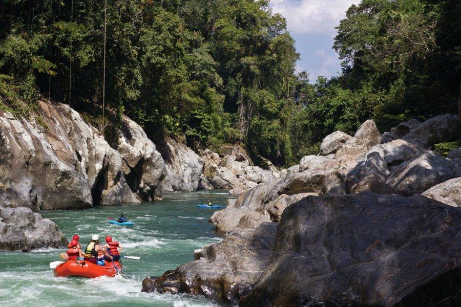 Le río Samaná à découvrir en rafting. (© JULES DOMINE - EXPEDITION COLOMBIA))