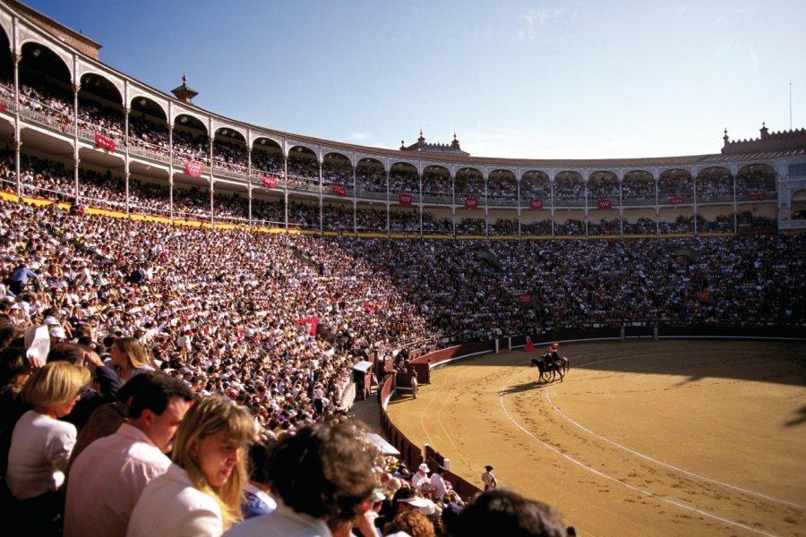 Corrida dans les arènes de Madrid lors des fêtes de San Isidro. (© Author's Image))
