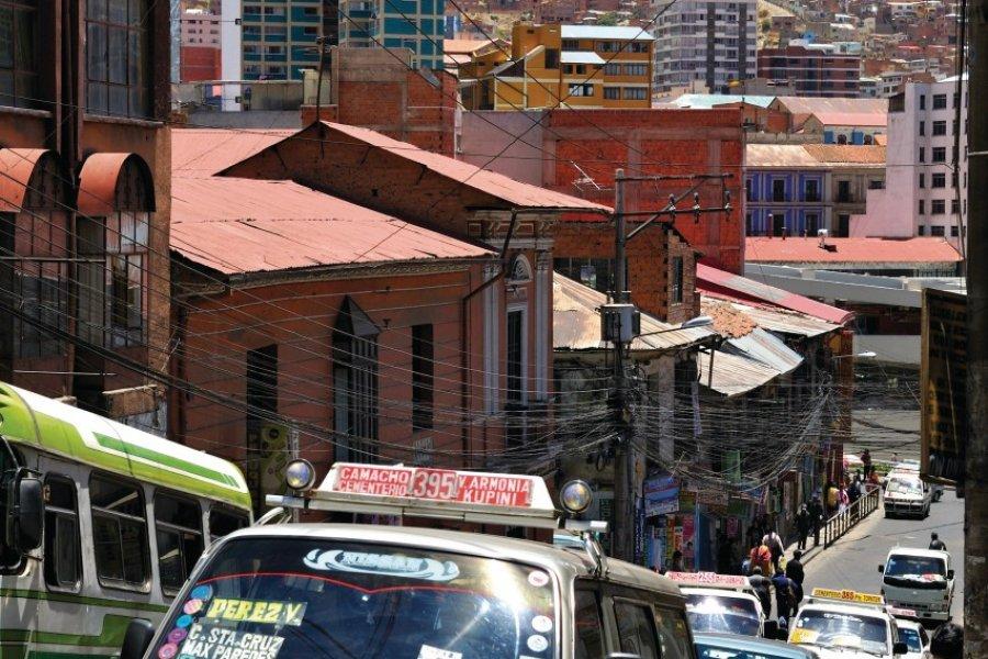 Dans les rues de La Paz. (© Patrice ALCARAS))