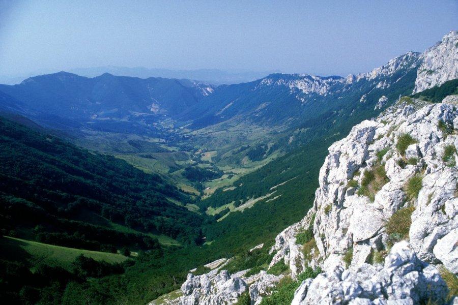 Col de la Bataille dans le Vercors aux environs de Valence (© PHOVOIR))