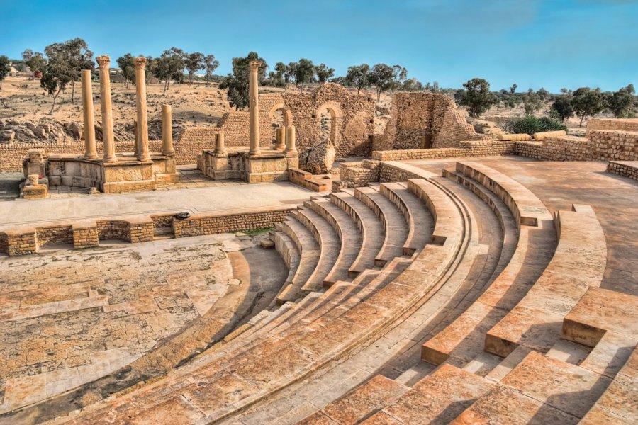 Amphithéâtre de Sbeïtla. (© Eleaner - iStockphoto))