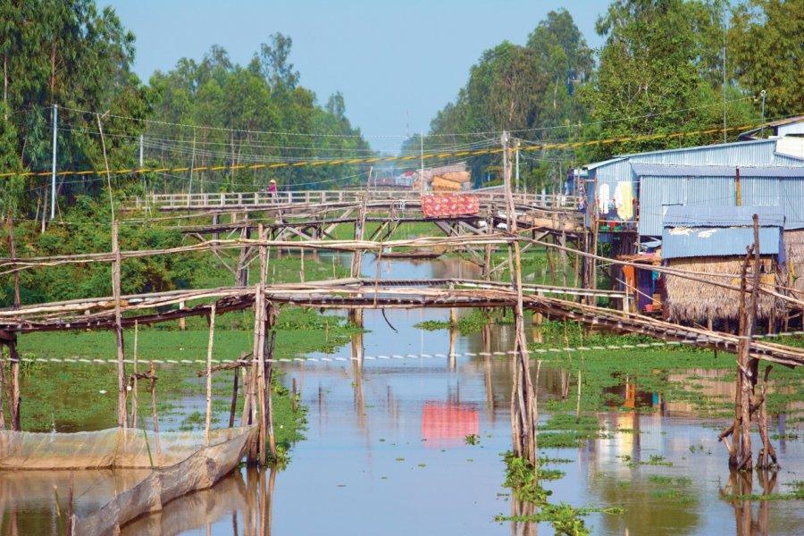 Village de la région de Tinh Biên. (© Author's Image))