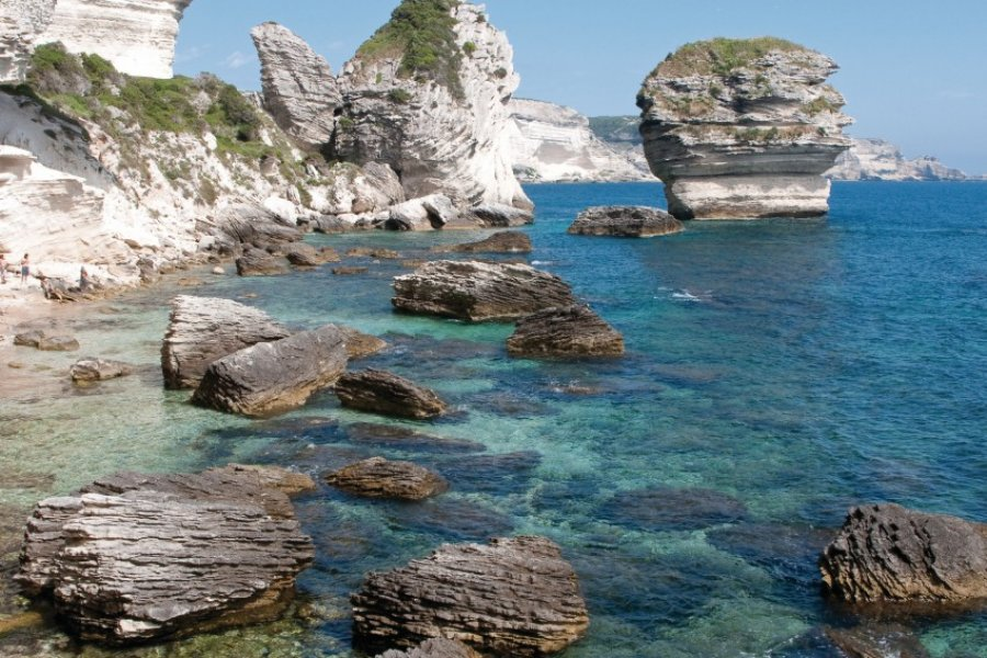 Les falaises de Bonifacio (© Balmelles - Fotolia))