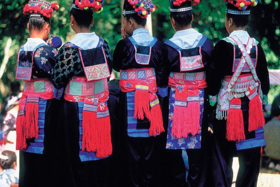 Nouvel An Hmong à Luong Prabang. (© Eric Martin - Iconotec))
