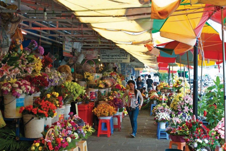 Le marché central de Phnom Penh (Phsar Thmey). (© Nicolas HONOREZ))