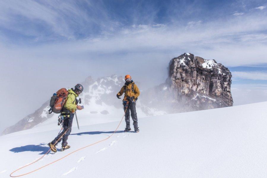Glacier Shimmer, Nevado del Tolima (5215 m). (© Paramo Trek))