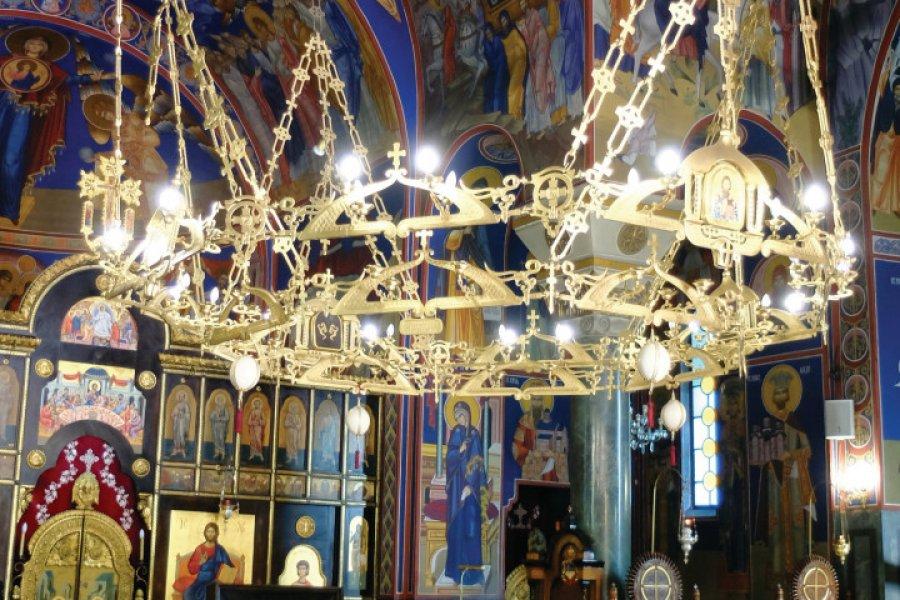 Intérieur de la cathédrale Saint-Sava. (© Oxana Pushkareva))