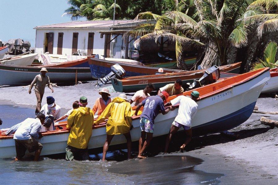 Retour de la pêche à Sainte-Marie. (© Author's Image))