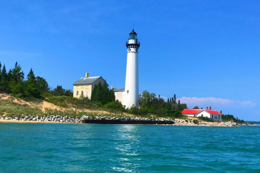 Le phare de South Manitou Island. (© LukeandKarla.Travel - Shutterstock.com))
