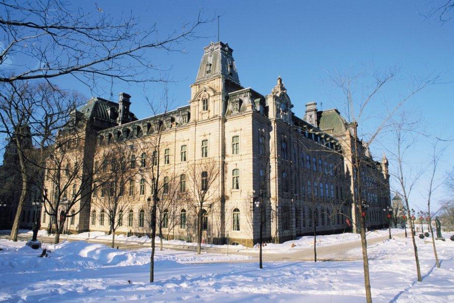 Hôtel du Parlement du Québec. (© Author's Image))