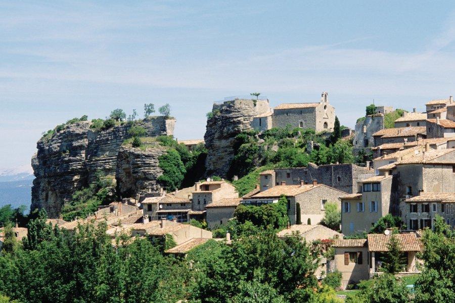 Le pays d'Apt à Saignon (© Irène ALASTRUEY - Author's Image))