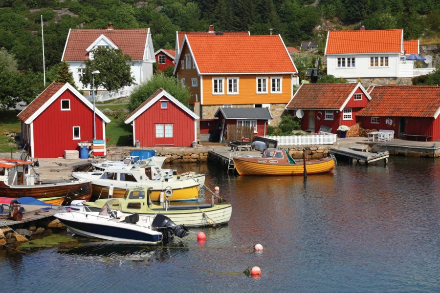 Le port de Kristiansand. (© Tupungato - iStockphoto))