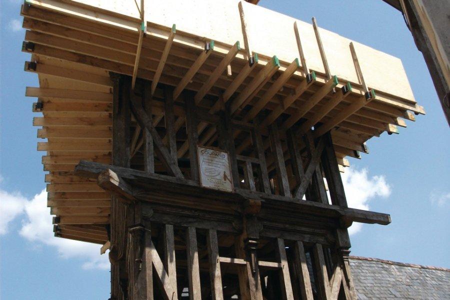 Restauration d'une maison à pans de bois (© Béatrice DEMERSSEMAN))