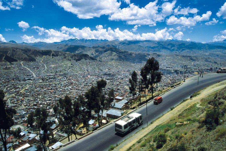 Vue de La Paz. (© Sylvie LIGON))