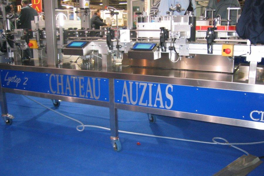 Château Auzias (chaîne d'assemblage) (© Dominique Auzias))