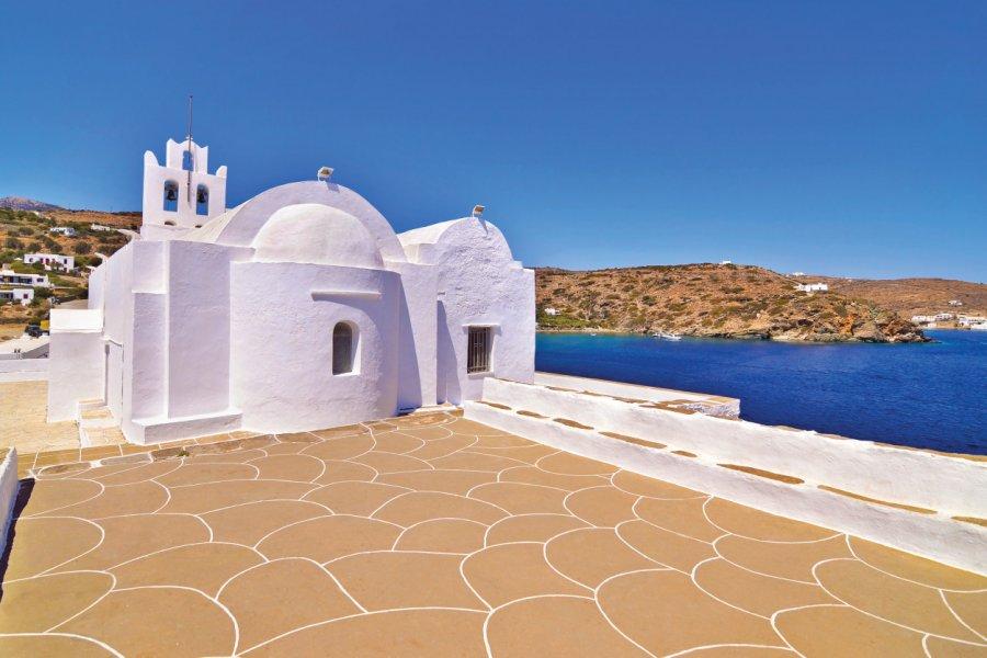 Panaghia Chrysopigi sur l'île de Sifnos. (© saiko3p))