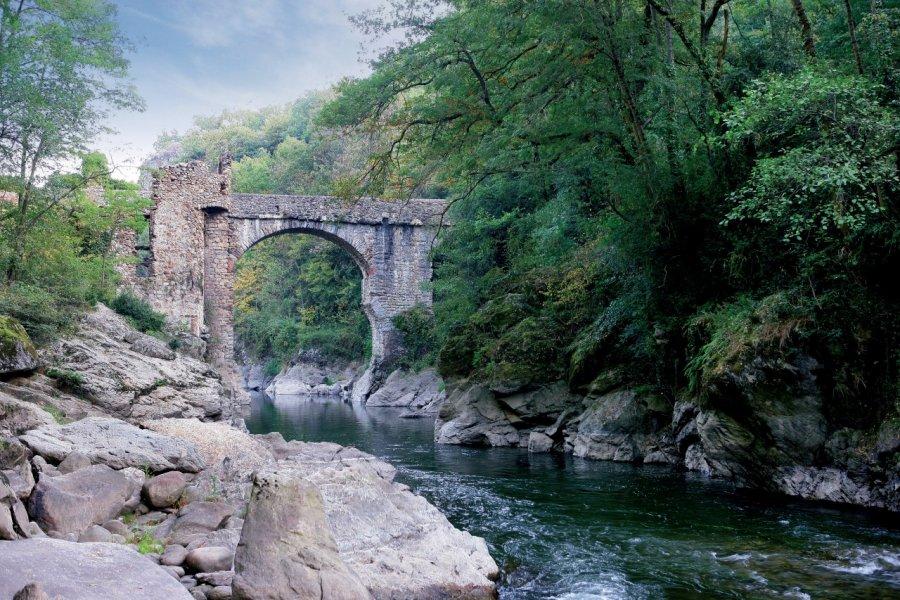 Le Pont du Diable, aux environs de Montolieu (© PHOVOIR))