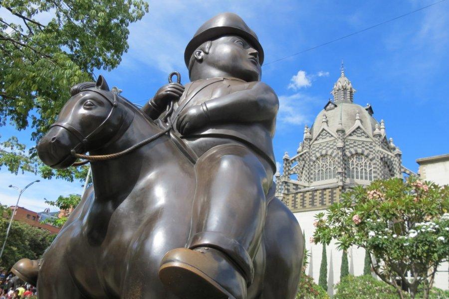 Sculpture de Fernando Botero (© Nicolas LHULLIER))