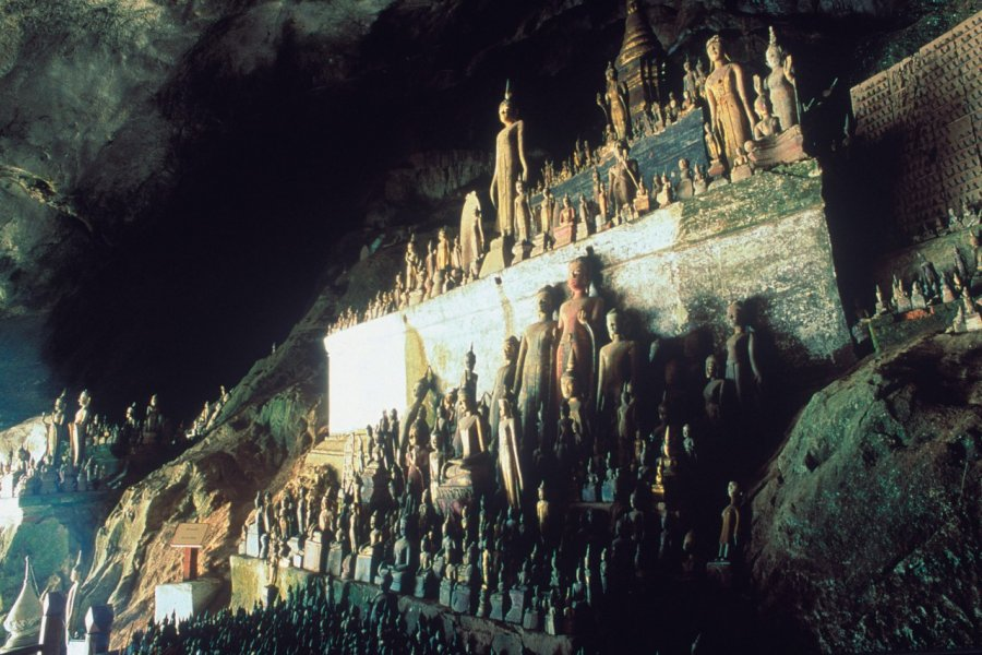 Pak Ou, une grotte aux milliers de bouddhas. (© Eric Martin - Iconotec))