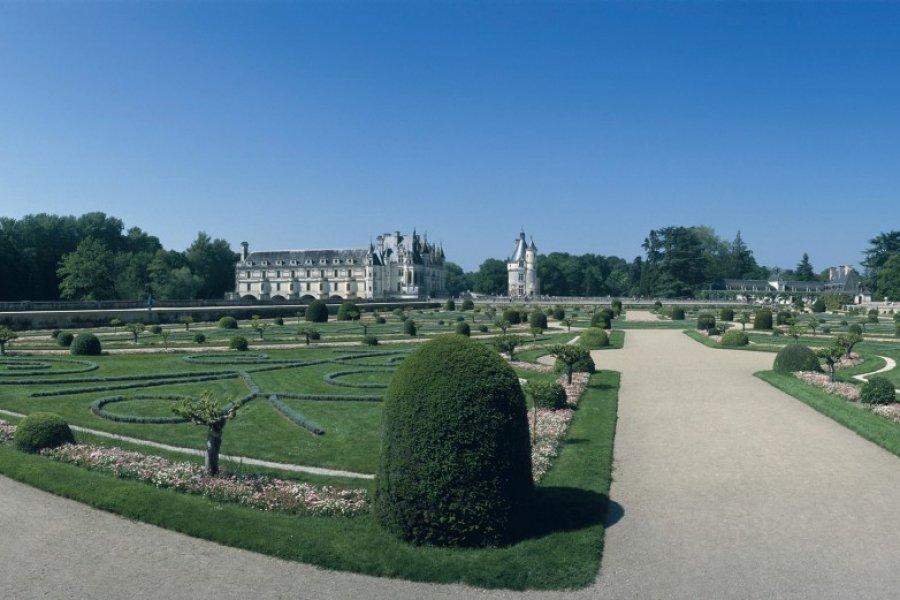Le château de Chenonceau et ses jardins (© DANIÈLE CATI - ICONOTEC))