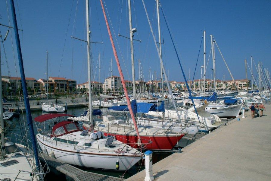 Le port de plaisance d'Argelès-sur-Mer (© PHOVOIR))