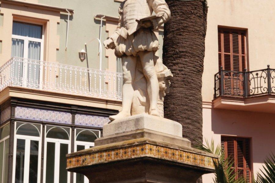 Statue del Greco, au Passeig de la Ribera. (© Irène ALASTRUEY - Author's Image))