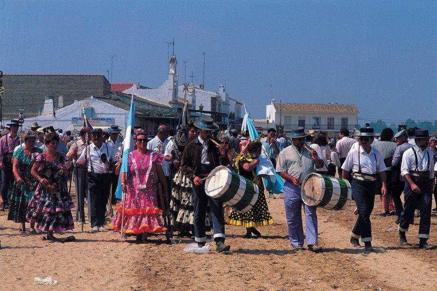 Le pèlerinage d'El Rocío est le plus important pèlerinage d'Espagne. (© Author's Image))