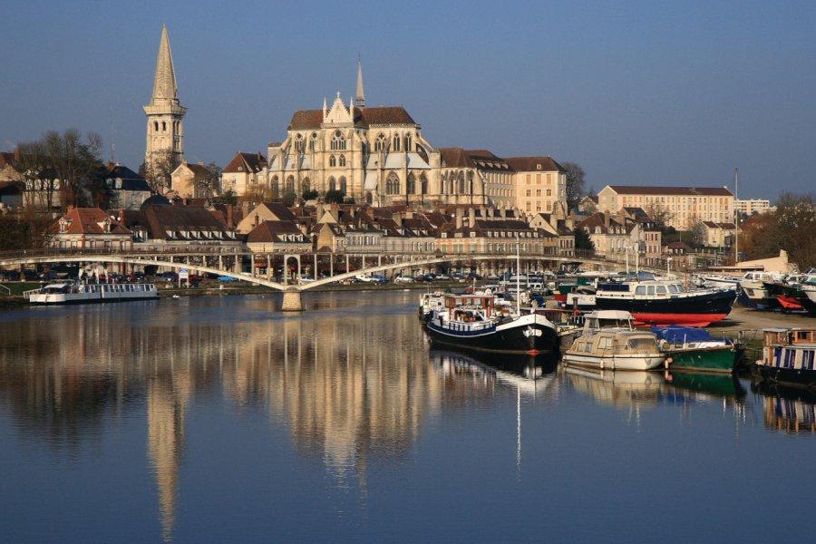 L'abbaye Saint-Germain d'Auxerre (© JEAN-JACQUES CORDIER - FOTOLIA))
