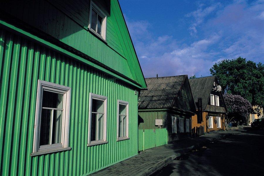 Habitations à Trakai. (© S.Nicolas - Iconotec))