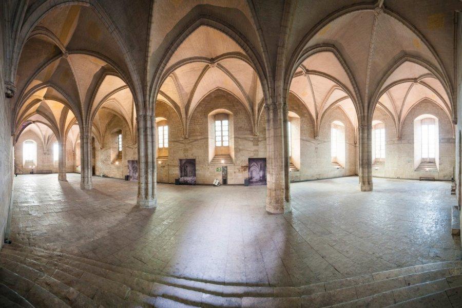 Intérieur du Palais des Papes. (© Sime))