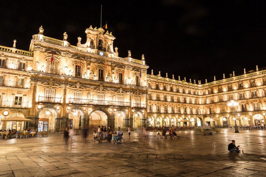Plaza Mayor de Salamanque. (© S-F - Shutterstock.com))