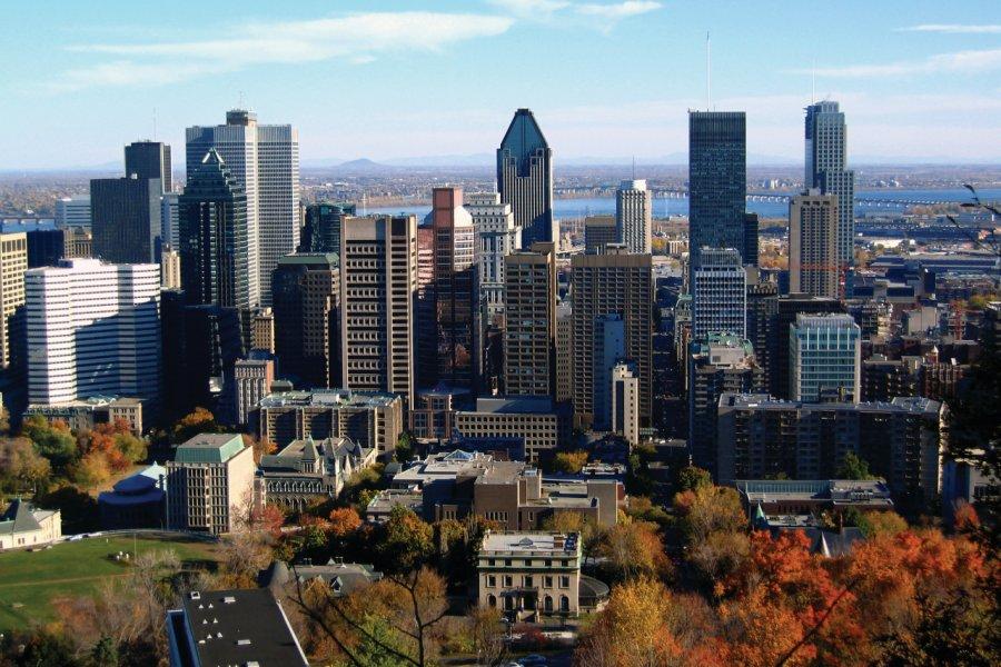 Vue du centre-ville de Montréal. (© Alphonse Tran - Shutterstock.com))