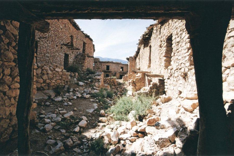 Village rural abandonné. (© Sébastien CAILLEUX))