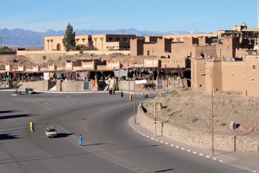 Centre-ville de Ouarzazate. (© Stéphan SZEREMETA))