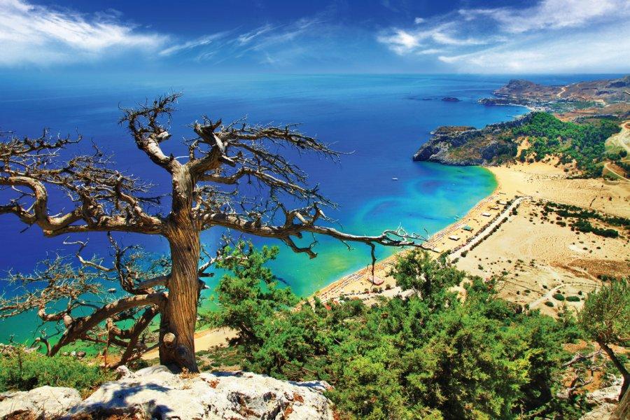 Le littoral de Rhodes. (© Freeartist))