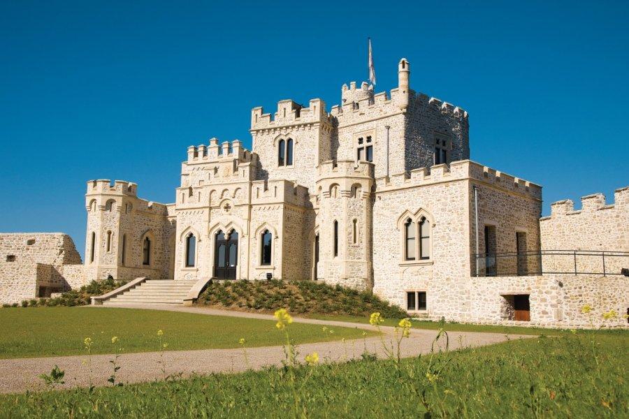 Le château, centre d'échanges culturels franco-britannique (© Olivier LECLERCQ))