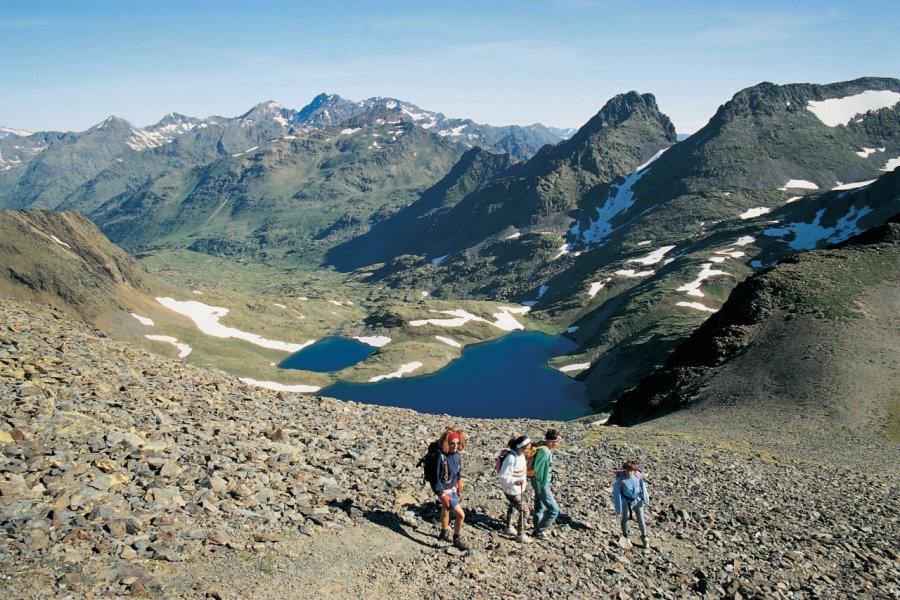 Trekking en été (© Ministère du Tourisme du Gouvernement d'Andorre))