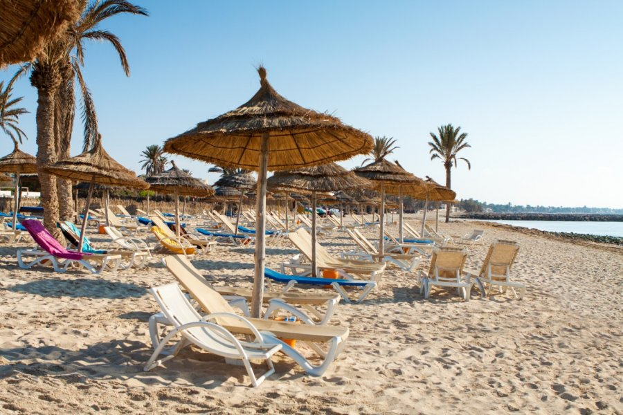 Sur la plage de Djerba. (© Rostislav_Sedlacek - Shutterstock.com))