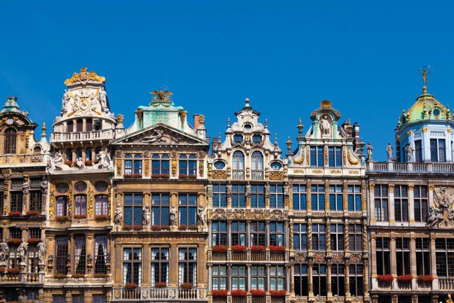 Guidhalls de la Grand-Place de Bruxelles. (© Interlight))