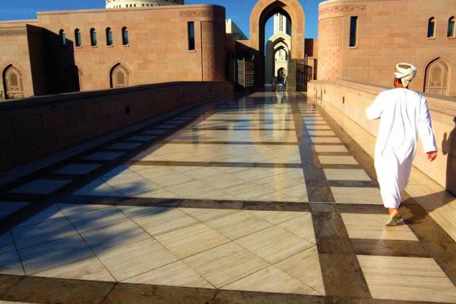 Grande Mosquée Sultan Qaboos de Mascate. (© OT Oman))