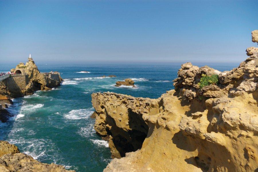 La côte de Biarritz (© iStockphoto.com/x-drew))