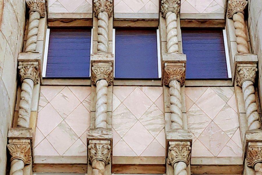 Architecture de Belgrade. (© Alex VUCKOVIC))