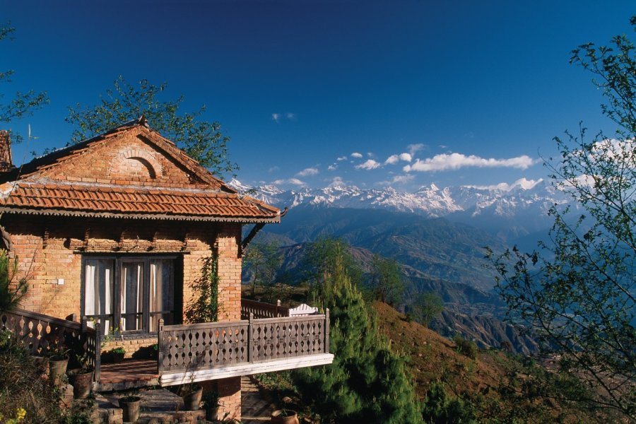 Paysage de Nagarkot. (© Author's Image))