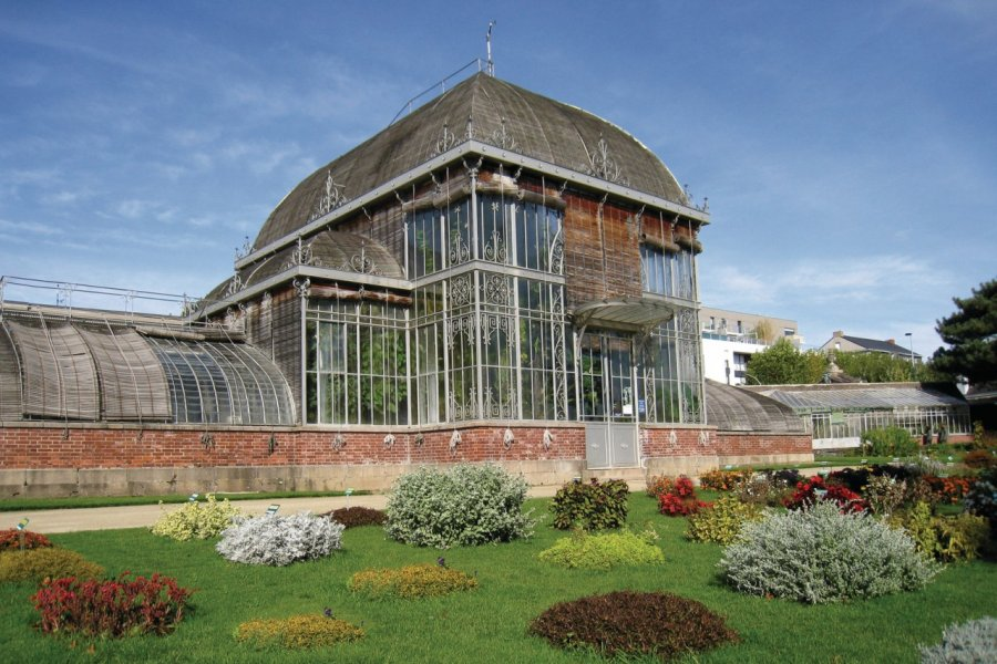 Serre du jardin des plantes de Nantes (© N.PARNEIX - FOTOLIA))