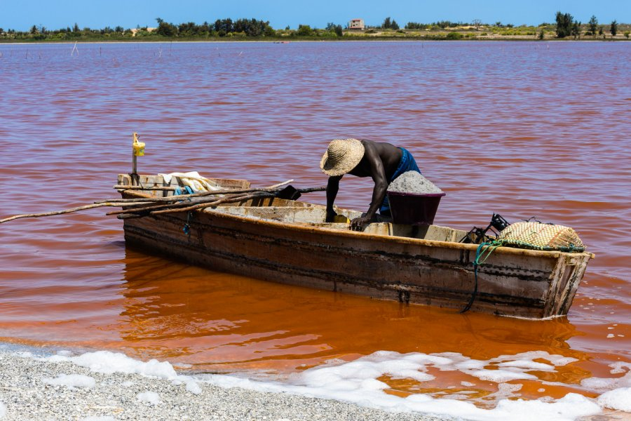 Le Lac Rose. (© Anton_Ivanov - Shutterstock.com))