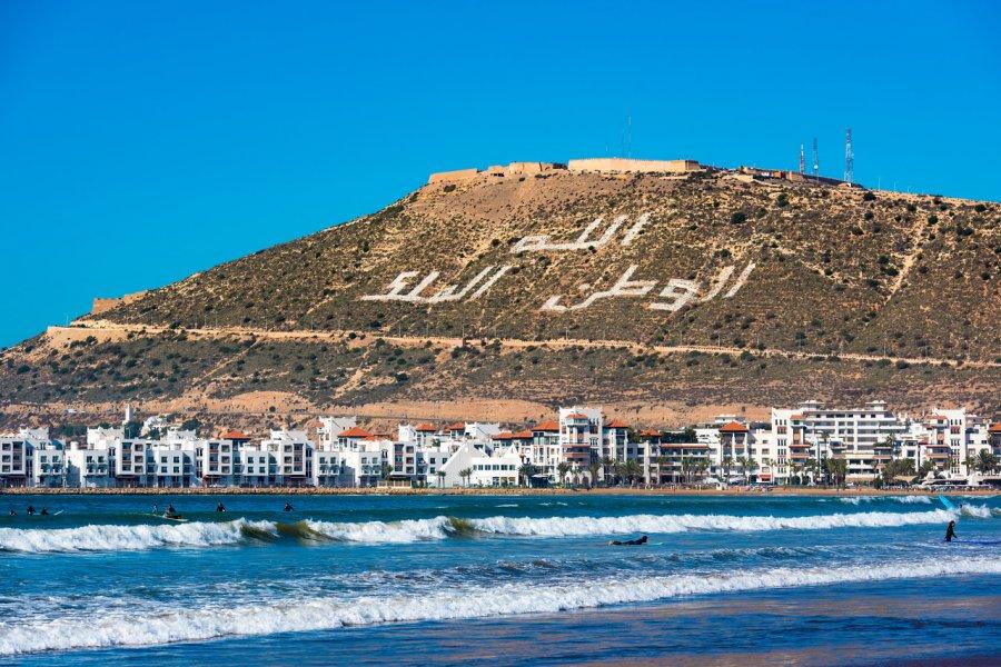 Vue sur Agadir. (© Savvapanf Photo - Shutterstock.com))